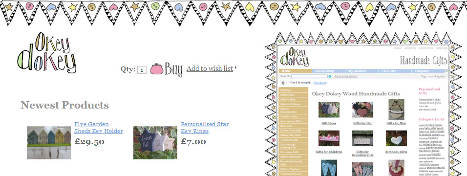 Online Store Designs